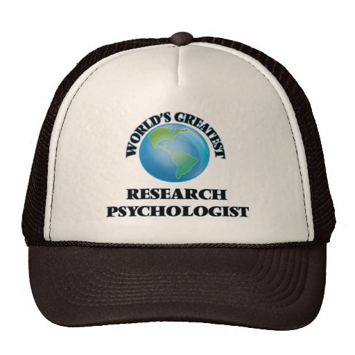 World's Greatest Research Psychologist Hats