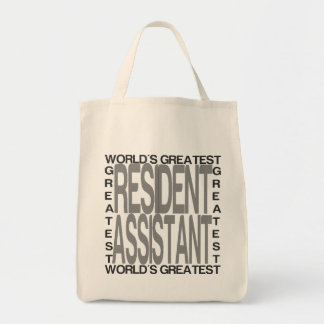 Worlds Greatest Resident Assistant Tote Bag
