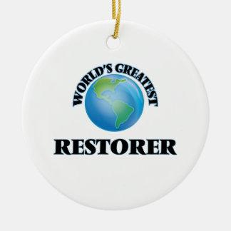 World's Greatest Restorer Ornament