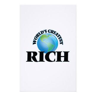 World's Greatest Rich Stationery