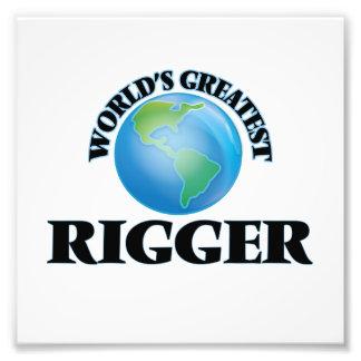 World's Greatest Rigger Photographic Print