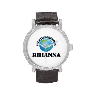 World's Greatest Rihanna Wrist Watches
