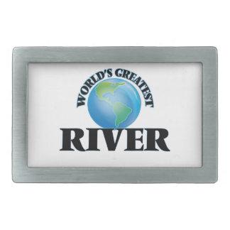 World's Greatest River Belt Buckles
