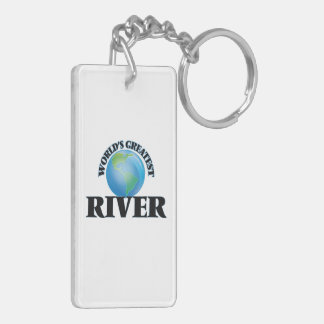 World's Greatest River Acrylic Key Chains
