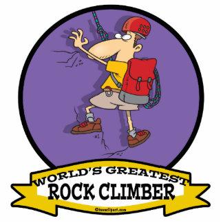 WORLDS GREATEST ROCK CLIMBER CARTOON CUT OUT