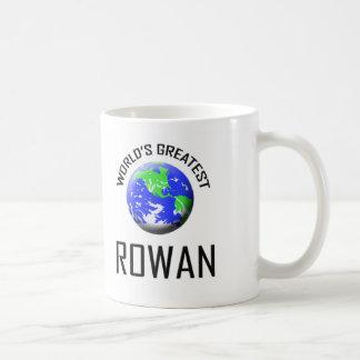 World's Greatest Rowan Basic White Mug