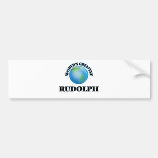World's Greatest Rudolph Bumper Stickers