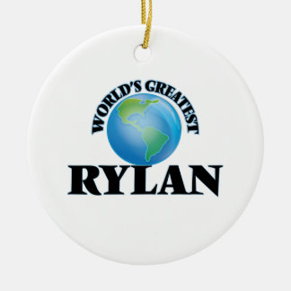 World's Greatest Rylan Ornaments