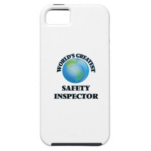World's Greatest Safety Inspector iPhone 5 Case