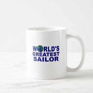World's Greatest Sailor Coffee Mugs