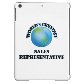 World's Greatest Sales Representative Case For iPad Air