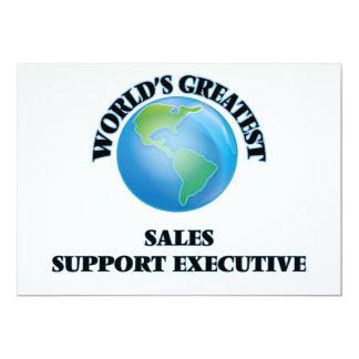 World's Greatest Sales Support Executive Invitation