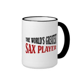 World's greatest sax player coffee mug