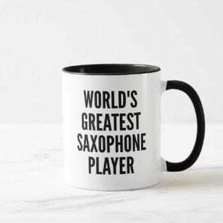 Worlds Greatest Saxophone Player Mug