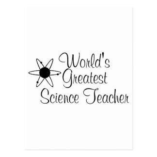 Worlds Greatest Science Teacher 2 Postcard
