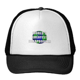 World's Greatest Scrapbooker Hat