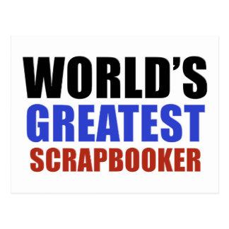 World's greatest SCRAPBOOKER Postcard