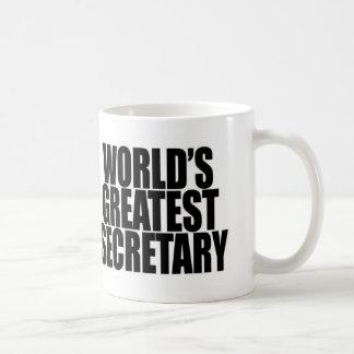 World's Greatest Secretary Mug