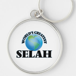 World's Greatest Selah Key Chains