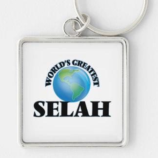 World's Greatest Selah Key Chain
