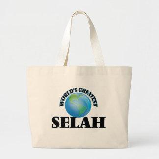 World's Greatest Selah Canvas Bag