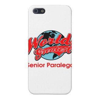 World's Greatest Senior Paralegal iPhone 5 Case