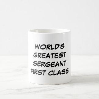 """""""World's Greatest Sergeant First Class"""" Mug"""