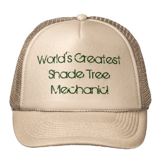 Worlds Greatest Shade Tree Mechanic Hat