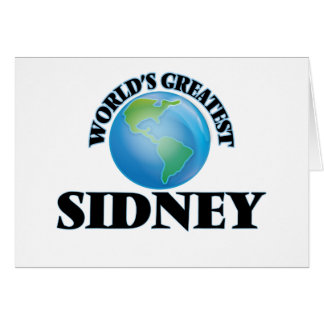World's Greatest Sidney Cards