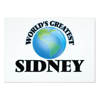 World's Greatest Sidney Custom Announcement