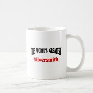 World's Greatest Silversmith Basic White Mug