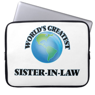 World's Greatest Sister-in-Law Laptop Sleeves