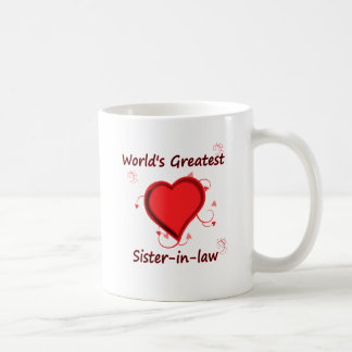 World's Greatest sister-in-law Mugs