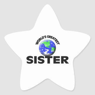 World's Greatest Sister Stickers
