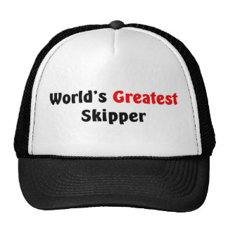 World's Greatest Skipper Cap