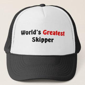 World's Greatest Skipper Trucker Hat