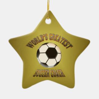 World's Greatest Soccer Coach Ornament