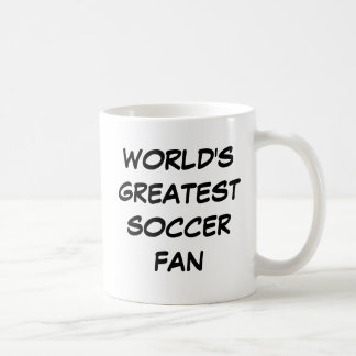 """World's Greatest Soccer Fan"" Mug"