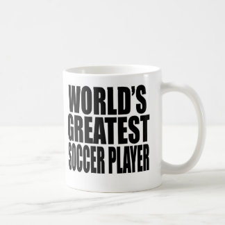 World's Greatest Soccer Player Basic White Mug