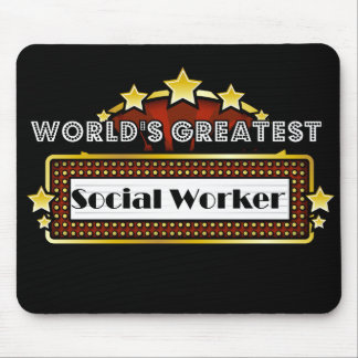 World's Greatest Social Worker Mouse Mat