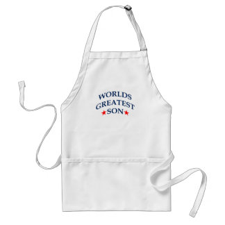 World's Greatest Son Standard Apron