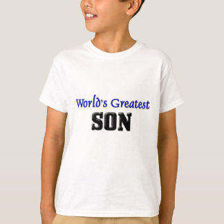 World's Greatest Son T-Shirt