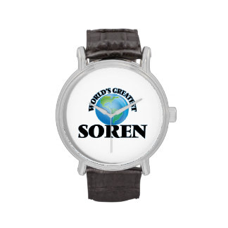 World's Greatest Soren Wrist Watches