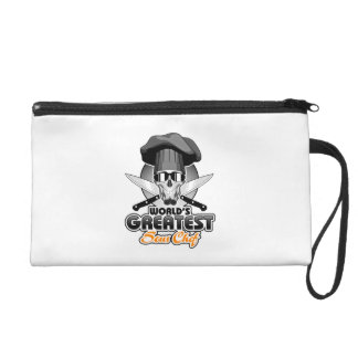 World's Greatest Sous Chef v7 Wristlet Purses
