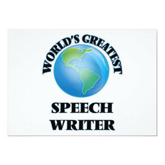 World's Greatest Speech Writer Cards