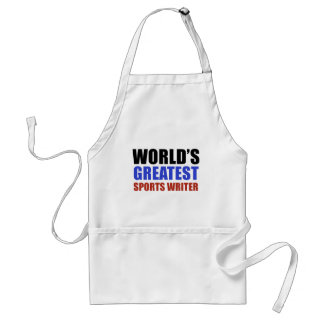 World's greatest SPORTS WRITER Standard Apron