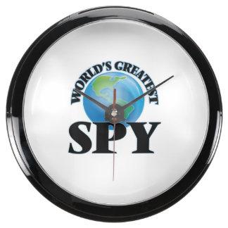 World's Greatest Spy Aqua Clock