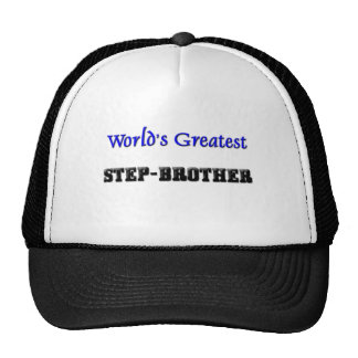 World's Greatest Step-Brother Mesh Hat