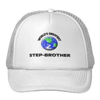 World's Greatest Step-Brother Hats