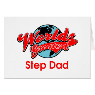 World's Greatest Step Dad Card